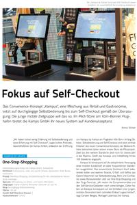 Artikel Fokus auf Self-Checkout